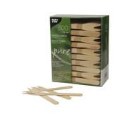 Pure Snack vorkjes, hout 'pure' 12,1 cm