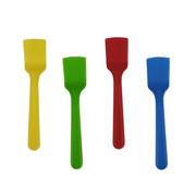 PAPSTAR Ijslepels, PS 8,5 cm assorti kleuren