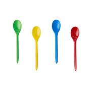 PAPSTAR IJs en dessertlepels, PS 12,5 cm assorti kleuren