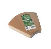 100% Fair Pizza tray van bruin karton, 100% FAIR | 2,5cm x 17,1cm x 18,3cm