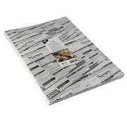PAPSTAR Inpakpapier met krantenprint, perkament vetvrij papier | 35x25 cm