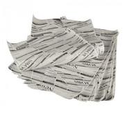 PAPSTAR Inpakpapier met krantenprint, perkament vetvrij papier (10 stuks) | 35x25 cm