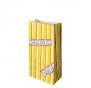PAPSTAR Popcorn zak, Ersatz papier 1,3 l 20,5 cm x 10,5 cm x 6 cm 'Popcorn' vetwerend