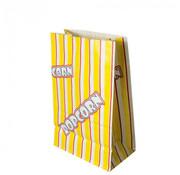 PAPSTAR Popcorn zak, Ersatz papier 2,5 l 22 cm x 14 cm x 8 cm 'Popcorn' vetwerend