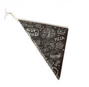 PAPSTAR Puntzakken, perkament papier 27 cm x 19 cm x 19 cm 'Fastfood' inhoud 125 gr