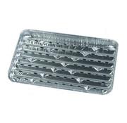 PAPSTAR Aluminium grillschalen 2,5 cm x 23 cm x 34 cm