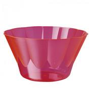 PAPSTAR Dessertschalen, PS rond 400 ml _ 12 cm x 7 cm roze