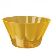 PAPSTAR Dessertschalen, PS rond 500 ml _ 13 cm x 7,5 cm oranje