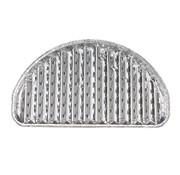 PAPSTAR Aluminium grillschalen 2 cm x 32,5 cm x 19 cm halfrond