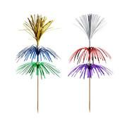 PAPSTAR Decoprikkers 18 cm assorti kleuren 'Fireworks' 3-laags