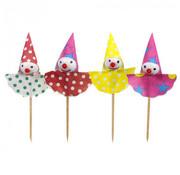 PAPSTAR Decoprikkers 8 cm 'Clown'