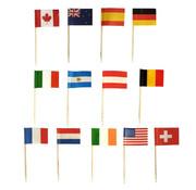 PAPSTAR Decoprikkers 8 cm 'Nations'
