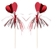 PAPSTAR Decoprikkers 22 cm rood 'Amore'