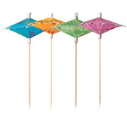 PAPSTAR Decoprikkers 15 cm assorti kleuren 'Lantern'
