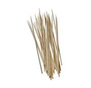 Pure Sjasliekstokjes, hout 'pure' _ 3 mm x 20 cm