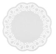 PAPSTAR Taartranden rond _ 38 cm wit