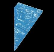 Rol Biologisch afbreekbare spuitzakken, blauw | 51cm