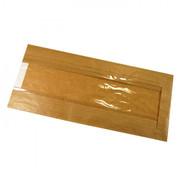 Broodzakken (met venster), Bruin Papier | 16/26x36cm