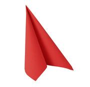 PAPSTAR Servetten 'ROYAL Collection' 1/4 vouw 33 cm x 33 cm rood