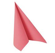 PAPSTAR Servetten 'ROYAL Collection' 1/4 vouw 40 cm x 40 cm roze