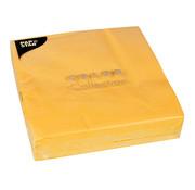 PAPSTAR Servetten, 2-laags 1/4 vouw 40 cm x 40 cm geel