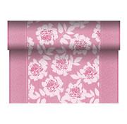 PAPSTAR Tafellopers, stofkarakter, PV-Tissue Mix 'ROYAL Collection' 24 m x 40 cm fuchsia 'Adele'