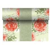 PAPSTAR Tafellopers, stofkarakter, PV-Tissue Mix 'ROYAL Collection' 24 m x 40 cm nectarine 'Provencal'