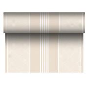 PAPSTAR Tafellopers, stofkarakter, PV-Tissue Mix 'ROYAL Collection' 24 m x 40 cm champagne 'Elegance'