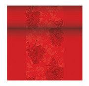 PAPSTAR Tafellopers, stofkarakter, PV-Tissue Mix 'ROYAL Collection' 24 m x 40 cm rood 'Thalia'
