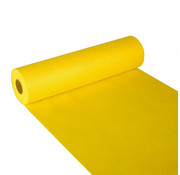 PAPSTAR Tafellopers, stofkarakter, nonwoven 'soft selection' 24 m x 40 cm geel