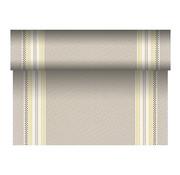 PAPSTAR Tafellopers, stofkarakter, PV-Tissue Mix 'ROYAL Collection' 24 m x 40 cm mosterd geel 'Kim'
