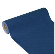 PAPSTAR Tafellopers, stofkarakter, nonwoven 'soft selection plus' 24 m x 40 cm donkerblauw