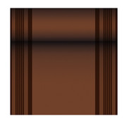 PAPSTAR Tafellopers, stofkarakter, PV-Tissue Mix 'ROYAL Collection' 24 m x 40 cm bruin 'Haddon'