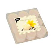 PAPSTAR Geurkaars _ 38 mm x 25 mm creme - Sweet Vanilla in behuizing van polycarbonaat