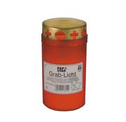 PAPSTAR Graflicht T3 met goudendeksel _ 6,4 cm x 12,5 cm rode houder