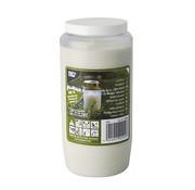 PAPSTAR Olie-Licht T6, 100 % Pflanzenfett _ 7 cm x 14 cm wit transparante houder