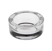 PAPSTAR Glazen kaarsen houder rond _ 65 mm x 27 mm glashelder voor theelichten