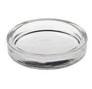 PAPSTAR Glazen kaarsen houder rond _ 100 mm x 20 mm glashelder voor stompkaarsen