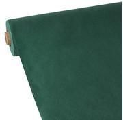 PAPSTAR Tafelkleed, Vlies 'soft selection' 40 m x 1,18 m donkergroen