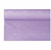 PAPSTAR Tafelkleed papier met damastprint 6 m x 1,2 m paars