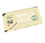 PAPSTAR Napperon, PV-Tissue mix 'ROYAL Collection Plus' 100 cm x 100 cm champagne 'Damascato'