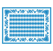 PAPSTAR Tafelsets, Airlaid 30 cm x 40 cm 'Beiers blauw'