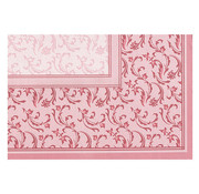 PAPSTAR Napperon, PV-Tissue mix 'ROYAL Collection Plus' 100 cm x 100 cm bordeaux 'Damascato'