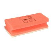 PAPSTAR Spons 15 cm x 7 cm x 4,5 cm rood 'Toilet'