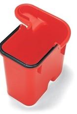 NUMATIC 16 liter emmer (2416 systeem), rood