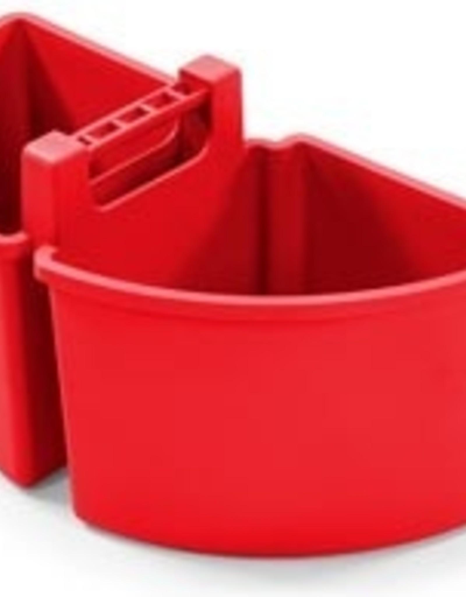 NUMATIC 10 liter caddy, 2 x 5 liter, rood