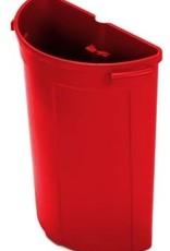 NUMATIC 70 liter afvalunit, rood