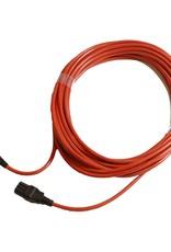 NUMATIC 12.5 mtr. 1mm x 2 aderig oranje kabel HD (PPR Plugged)