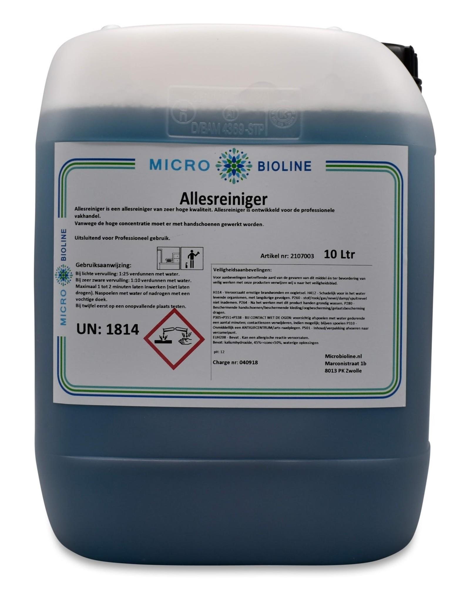 MICRO BIOLINE Allesreiniger   10 liter voordeelverpakking   Concentraat