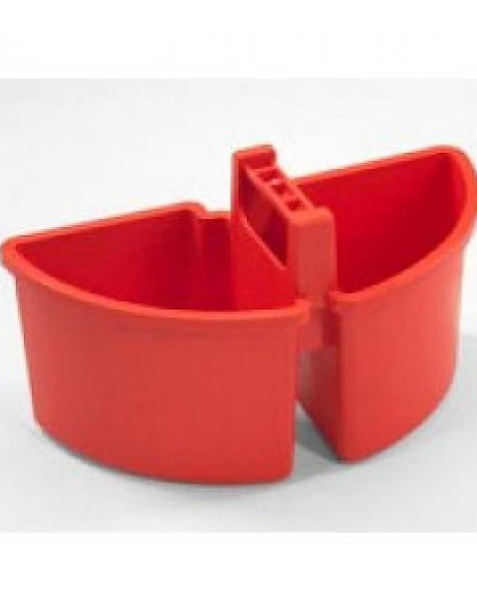 NUMATIC 4 liter caddy, 2 x 2 liter, rood